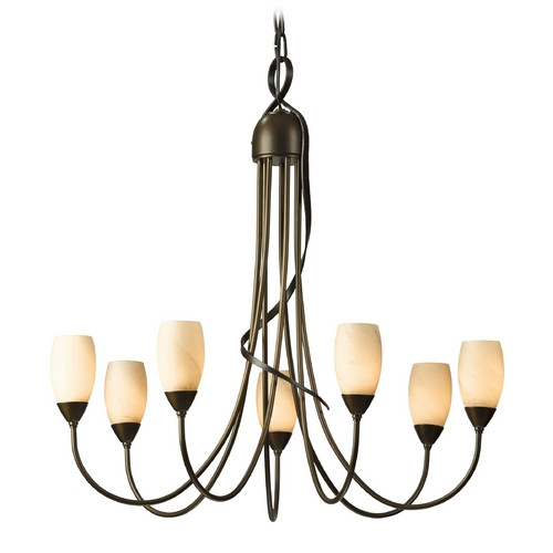 Hubbardton Forge Lighting Hubbardton Forge Lighting Flora Bronze Chandelier 103049-05-H444