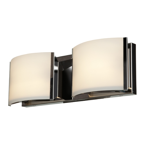 Access Lighting Access Lighting Nitro 2 Brushed Steel Bathroom Light 62292-BS/OPL