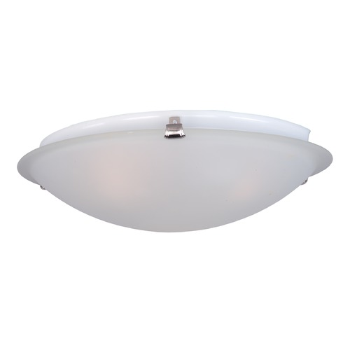 Maxim Lighting Maxim Lighting Malaga Satin Nickel Flushmount Light 2680FTSN