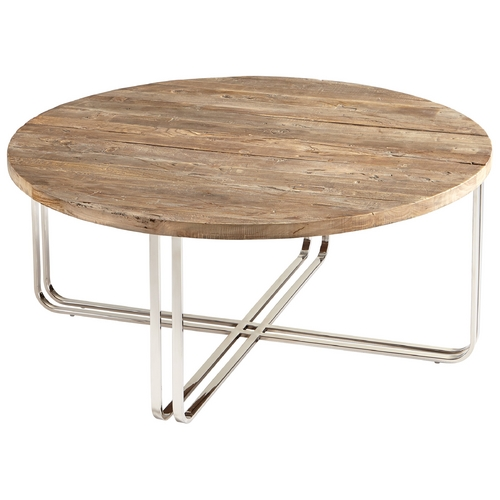 Cyan Design Cyan Design Montrose Black Forest Grove & Chrome Coffee & End Table 06561
