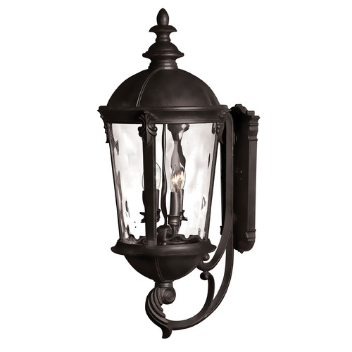 Hinkley Lighting Hinkley Lighting Windsor Black LED Outdoor Wall Light 1895BK-LED
