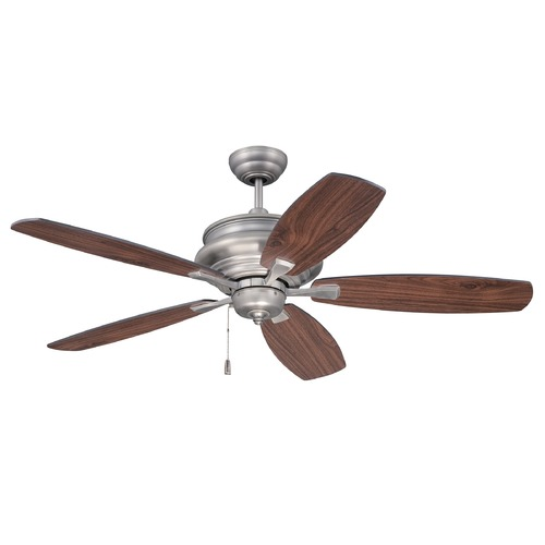 Craftmade Lighting Craftmade Lighting Yorktown Pewter Ceiling Fan Without Light YOR52PT5