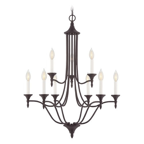 Savoy House Savoy House Lighting Herndon English Bronze Chandelier 1-1009-9-13