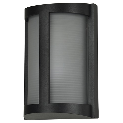 Access Lighting Access Lighting Pier Black LED Outdoor Wall Light 20042LEDMG-BL/RFR