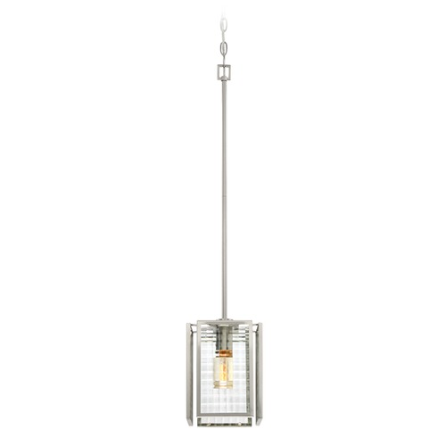 Designers Fountain Lighting Designers Fountain Pivot Satin Platinum Mini-Pendant Light 88830-SP