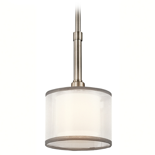 Kichler Lighting Kichler Mini-Pendant Light with White Glass 42384AP