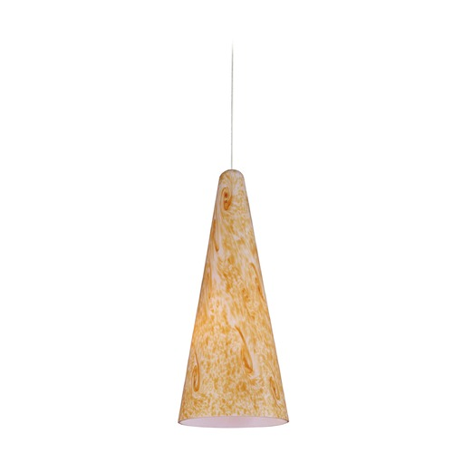 ET2 Lighting Minx Bronze Mini-Pendant Light with Conical Shade E94330-103BZ