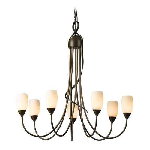 Hubbardton Forge Lighting Hubbardton Forge Lighting Flora Bronze Chandelier 103049-SKT-05-ZX0444