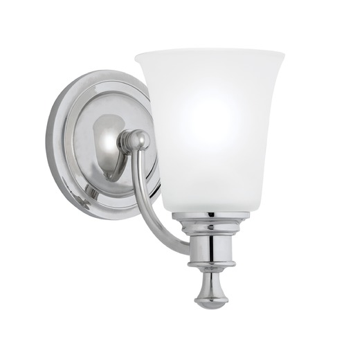 Norwell Lighting Norwell Lighting Sienna Chrome Sconce 9721-CH-FR