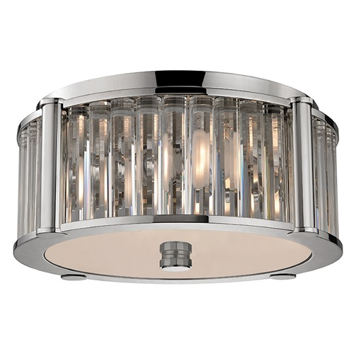 Hudson Valley Lighting Hartland 3 Light Flushmount Light - Polished Nickel 9515-PN