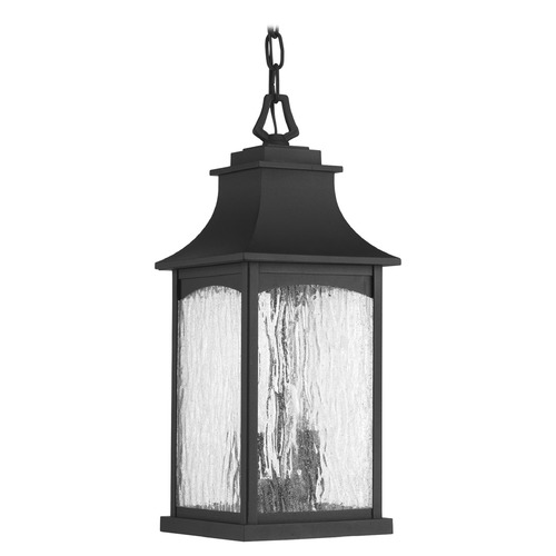Progress Lighting Progress Lighting Maison Black Outdoor Hanging Light P6532-31