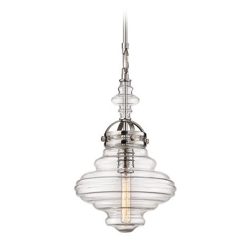 Elk Lighting Elk Lighting Gramercy Polished Nickel Pendant Light 67118/1