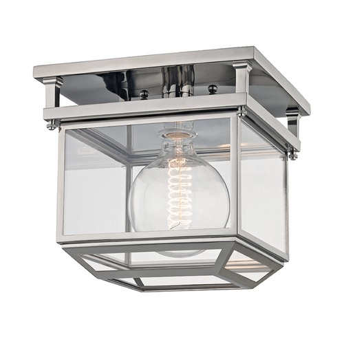Hudson Valley Lighting Hudson Valley Lighting Rutherford Polished Nickel Semi-Flushmount Light 5611-PN