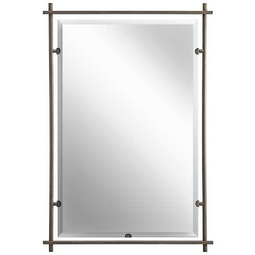 Kichler Lighting Kichler Abbeyville Rectangle 26.38-Inch Mirror 41096OZ