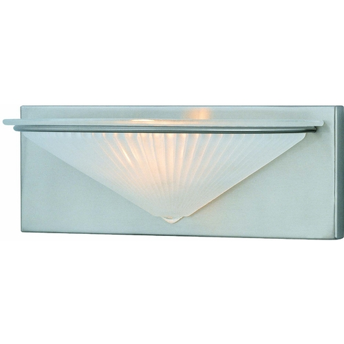 Lite Source Lighting Lite Source Lighting Damon Polished Steel Sconce LS-16331PS/FRO