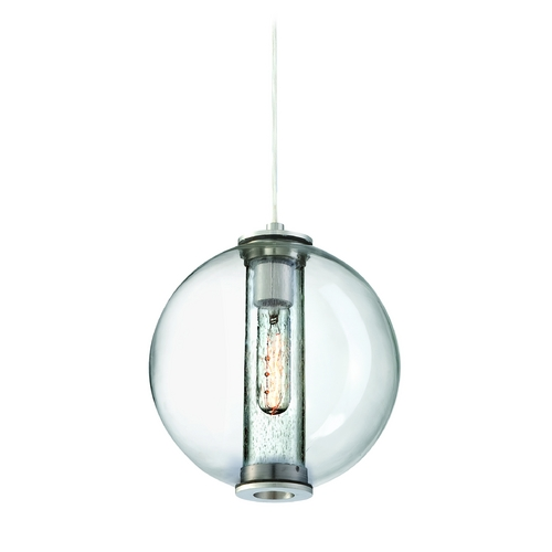 Philips Lighting Modern Mini-Pendant Light with Clear Glass 190154836