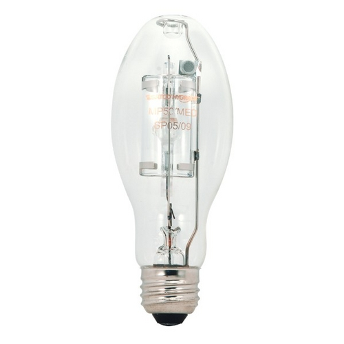 Satco Lighting 50-Watt Metal Halide Light Bulb with Medium Base S5854