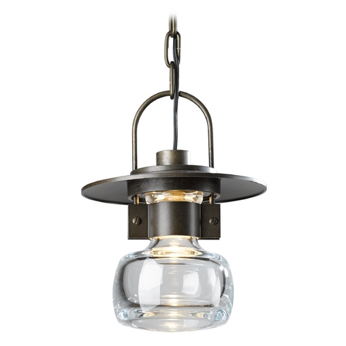 Hubbardton Forge Lighting Hubbardton Forge Lighting Mason Bronze Outdoor Hanging Light 363003-SKT-05-ZM0448