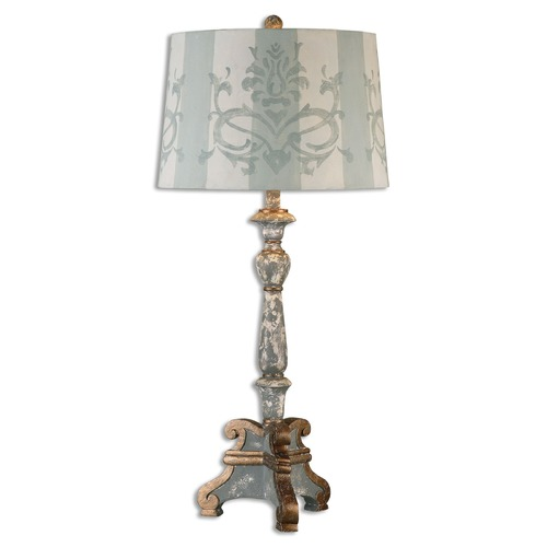 Uttermost Lighting Uttermost Trimonte Aged Gray Table Lamp 26607