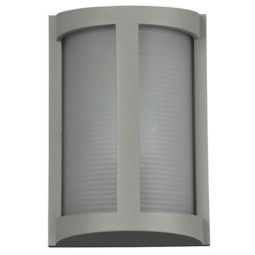 Access Lighting Access Lighting Pier Satin Nickel LED Outdoor Wall Light 20042LEDMG-SAT/RFR