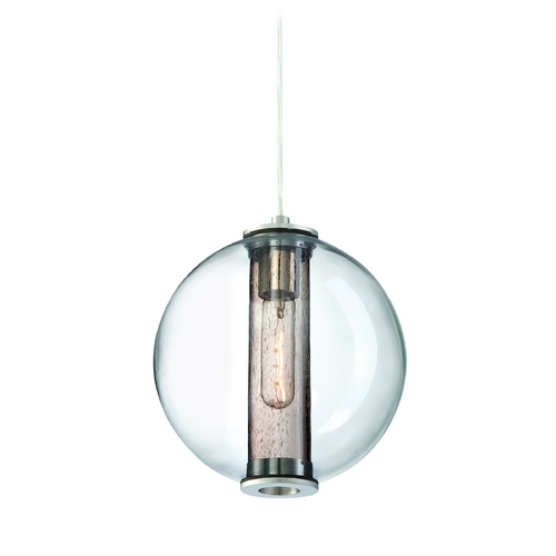 Philips Lighting Modern Mini-Pendant Light with Clear Glass 190155836