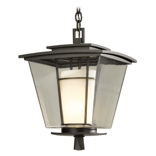 Hubbardton Forge Lighting Hubbardton Forge Lighting Beacon Hall Dark Smoke Outdoor Hanging Light 364820-SKT-07-ZU0287