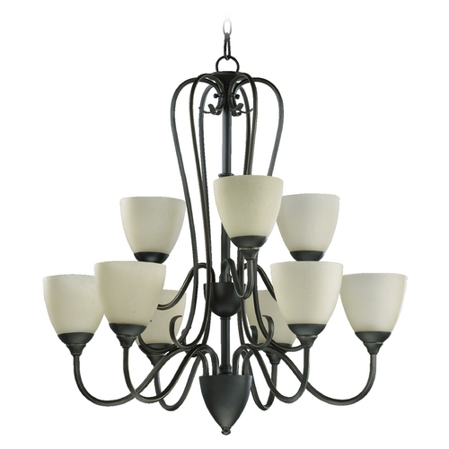 Quorum Lighting Quorum Lighting Powell Old World Chandelier 6008-9-95