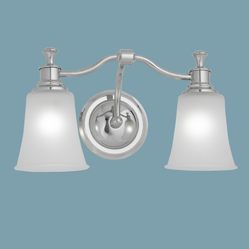 Norwell Lighting Norwell Lighting Sienna Chrome Bathroom Light 9722-CH-FR