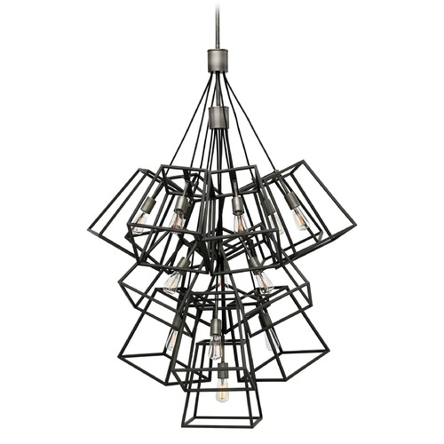 Hinkley Lighting Hinkley Lighting Fulton Aged Zinc Pendant Light 3358DZ