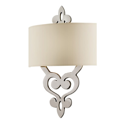 Corbett Lighting Corbett Lighting Olivia Polished Nickel Sconce 102-12-F