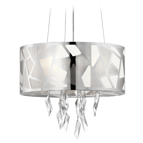Elan Lighting Elan Lighting Angelique Chrome Pendant Light 83677