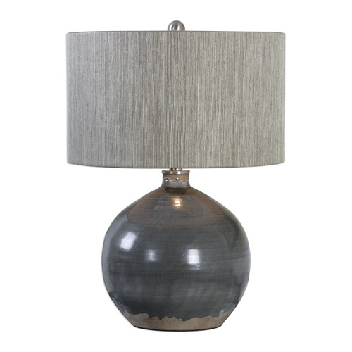Uttermost Lighting Uttermost Vardenis Grey Ceramic Lamp 27215-1