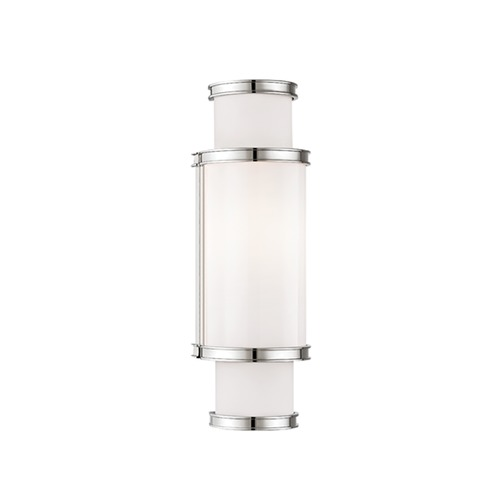 Hudson Valley Lighting Malcolm Polished Nickel Bathroom Light 6614-PN