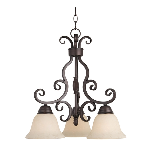 Maxim Lighting Maxim Lighting Manor Oil Rubbed Bronze Mini-Chandelier 12203FIOI