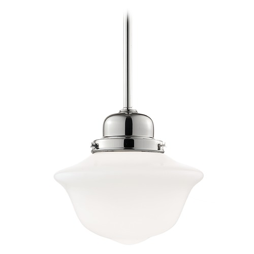 Hudson Valley Lighting Mini-Pendant Light with White Glass 19-SN-1609