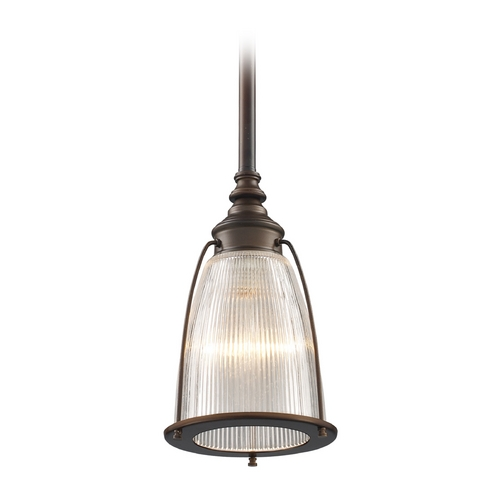 Elk Lighting Mini-Pendant Light with Clear Glass 60015-1