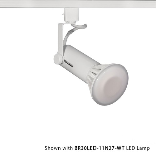 WAC Lighting Wac Lighting White Track Light Head HTK-188-WT