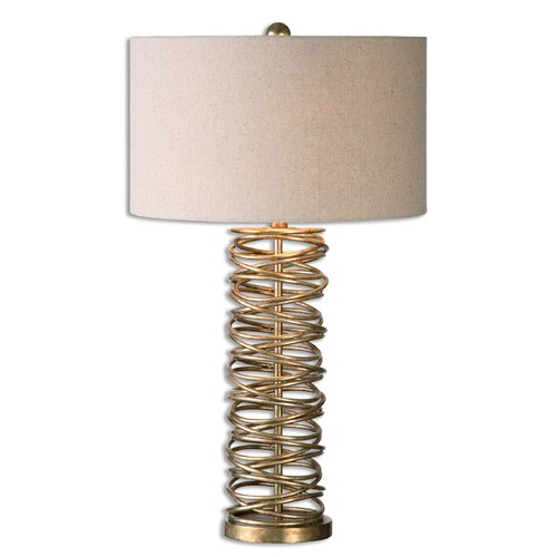 Uttermost Lighting Uttermost Amarey Metal Ring Table Lamp 26609-1