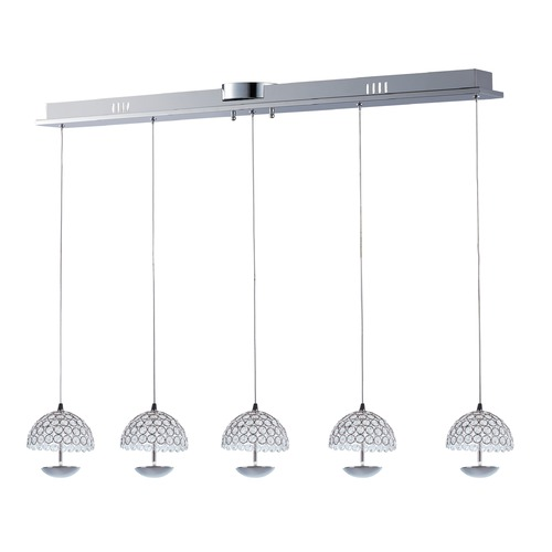 ET2 Lighting Parasol 5-Light LED Pendant E24495-20PC
