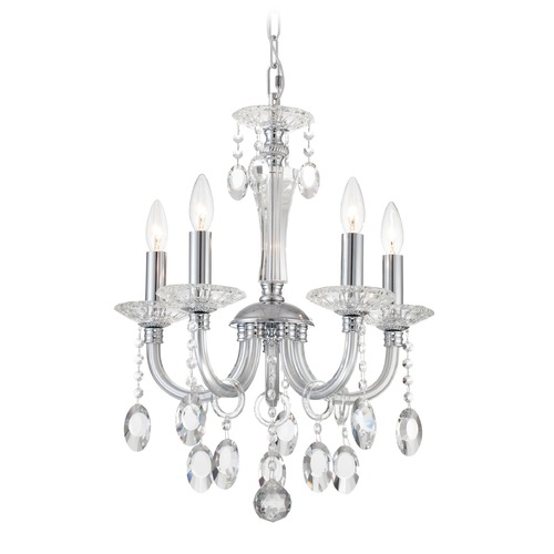 Lite Source Lighting Lite Source Theophilia Chrome Crystal Chandelier EL-10145