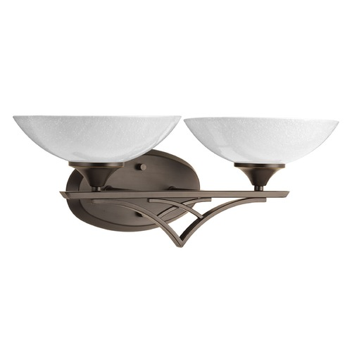 Progress Lighting Progress Lighting Prosper Antique Bronze Bathroom Light P2151-20