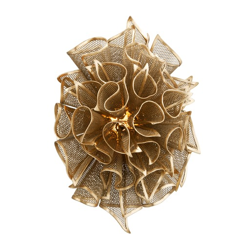 Corbett Lighting Corbett Lighting Pulse Gold Leaf LED Sconce 218-11