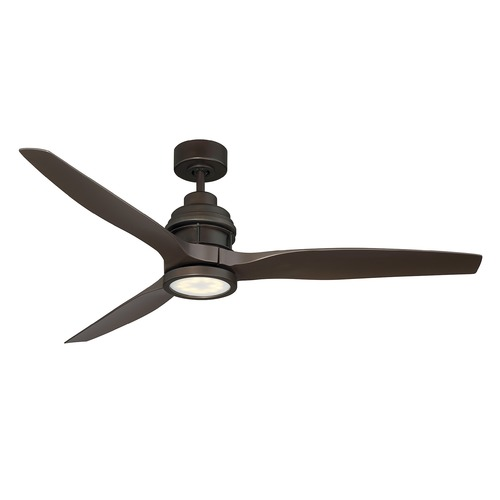 Savoy House Savoy House Lighting La Salle Bronze LED Ceiling Fan with Light 60-5025-313-13