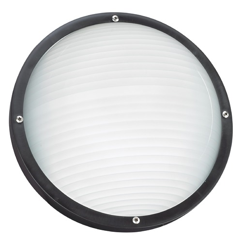 Sea Gull Lighting Sea Gull Lighting Bayside Black LED Outdoor Wall Light 83057EN3-12