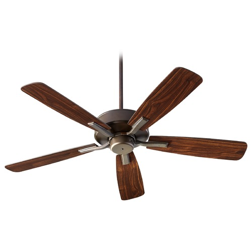 Quorum Lighting Quorum Lighting Villa Oiled Bronze Ceiling Fan Without Light 42525-86