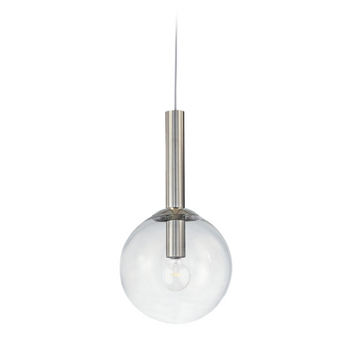 Sonneman Lighting Mid-Century Modern Mini-Pendant Light Polished Nickel Bubbles by Sonneman Lighting 3761.35