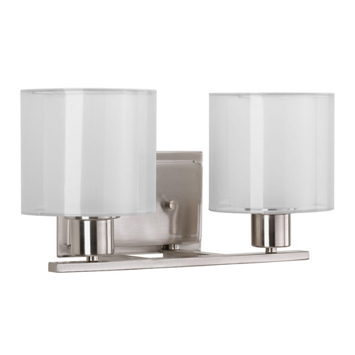 Progress Lighting Progress Lighting Invite Brushed Nickel Bathroom Light P2078-09