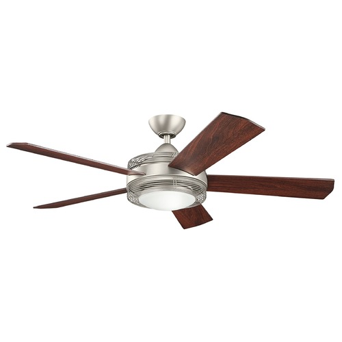 Kichler Lighting Kichler Lighting Enthrall LED Ceiling Fan with Light 300192NI