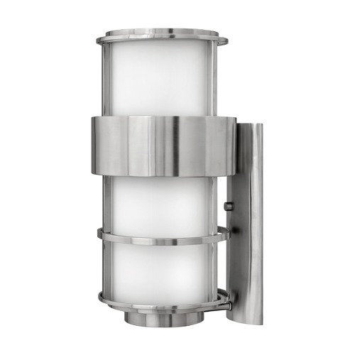 Hinkley Lighting Hinkley Lighting Saturn Stainless Steel LED Outdoor Wall Light 1905SS-LED