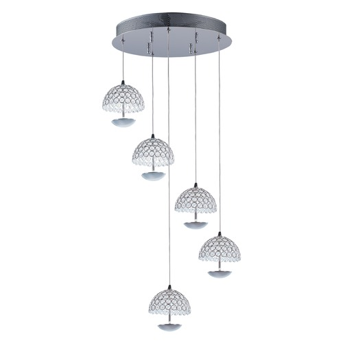 ET2 Lighting Parasol 5-Light LED Pendant E24496-20PC